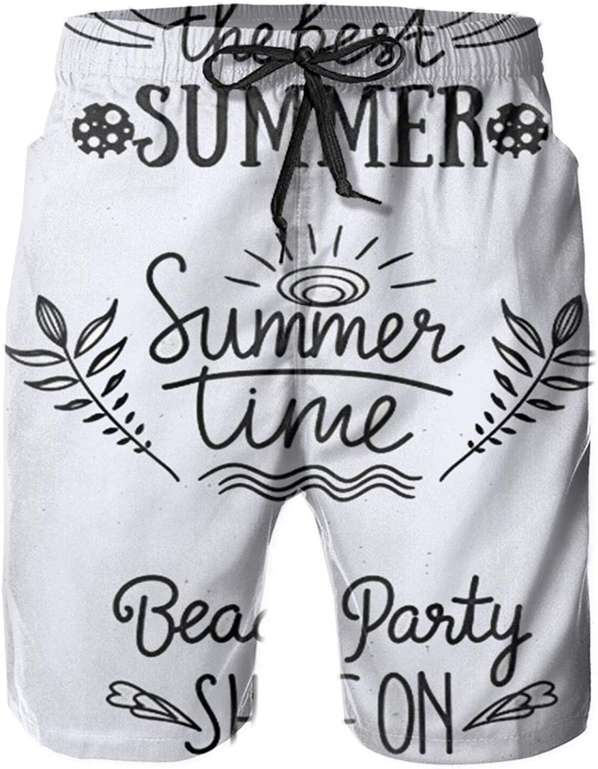 Yt92Pl@00 Men's 100% Polyester Summer Time Clearance SALE Limited New product!! time The Beach Best