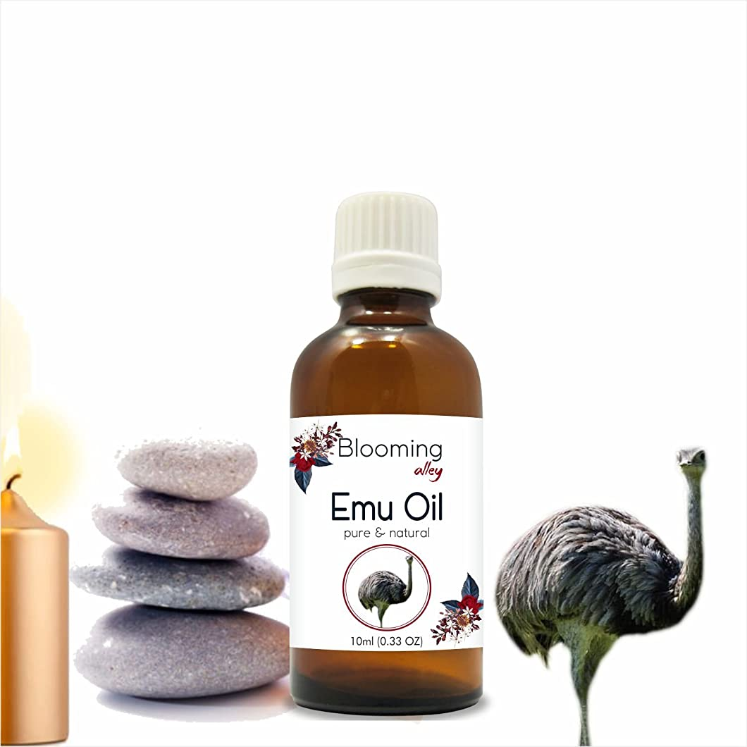 位置づけるバックアップ精神Emu Oil 10 ml or 0.33 Fl Oz by Blooming Alley