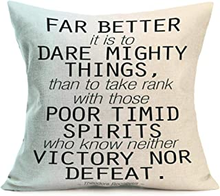 Best far better to dare mighty things Reviews
