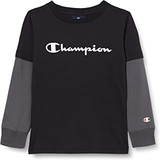 Champion American Classics Overlay Long Sleeve T-Shirt Garçon