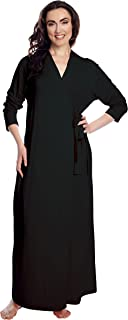 Shadowline Women's Before Bed Long Wrap Robe