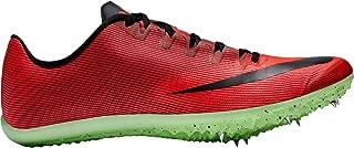 Nike Men's Zoom 400 Track and Field Spikes (12, Red Orbit/Black/Crimson)