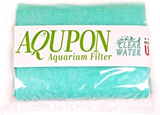 AQUPON Aquarium Polishing Filter Pad 100 Micron - Ultimate Media Pads - Cut to Fit 24
