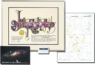 Star Registry Deluxe Star Kit (Gold, 1X)