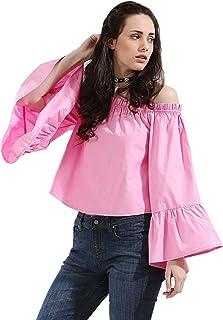 Koovs Off Shoulder Blouse For Women