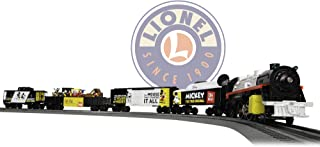 Lionel Mickey Celebration, Electric O Gauge Model Train Set, Remote with Bluetooth Compatibility