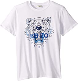 Tiger Short Sleeve T-Shirt (Big Kids)