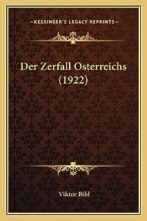 Der Zerfall Osterreichs (1922)