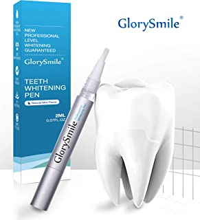 Teeth Whitening Gel Pen – GlorySmile Teeth Whitening Treatments Kit Safe 35% Carbamide Peroxide Effective No Sensitivity Teeth Whitener(1 Pack)