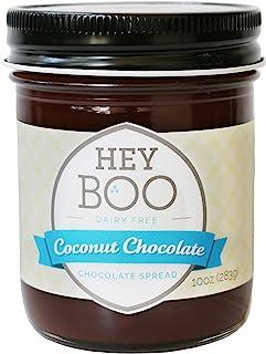 Coconut Chocolate Spread - Delicious - Coconut Milk - Dark Cocoa - Vegan - Wholesome - No Corn Syrup - Made in USA, 10 oz