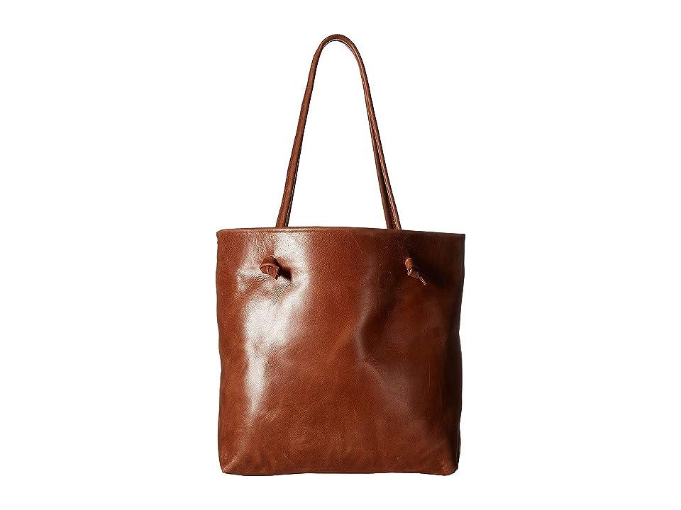 ABLE Rachel Tote (Chestnut) Handbags
