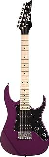 Ibanez 6 String Solid-Body Electric Guitar, Right, Metallic Purple (GRGM21MMPL)