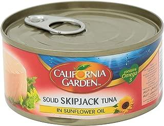 California Garden Solid Skipjack Tuna in Sunflower Oil, 170 gm