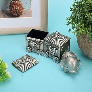 Astuccio per gioielli Organizer Scatole portaoggetti Scatola portaoggetti per denti per bambini Riccioli di denti squisiti...