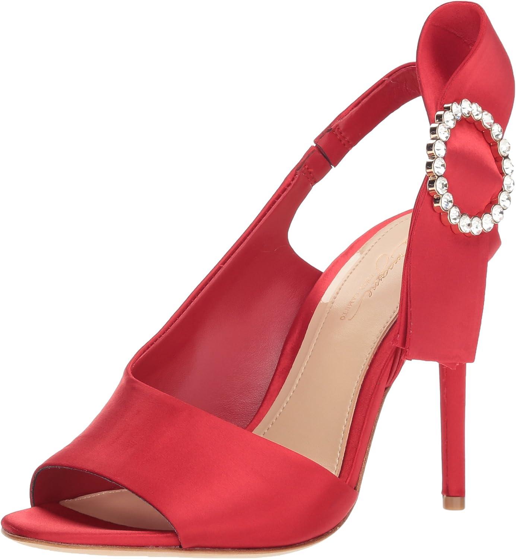 Imagine Vince Camuto Womens Regin Heeled Sandal