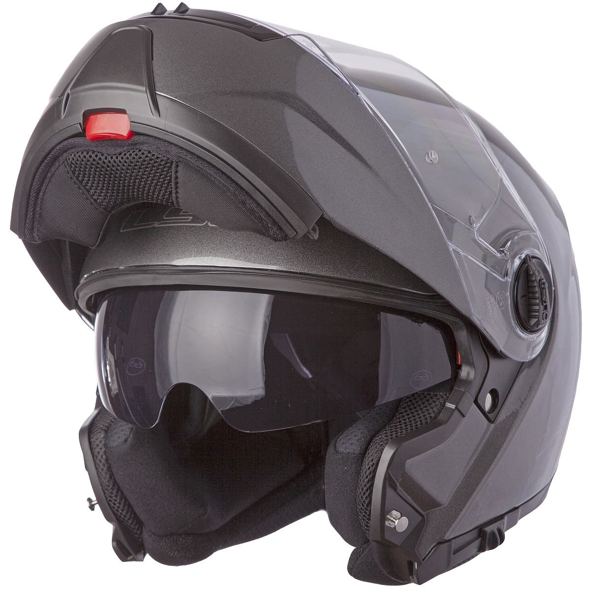 LS2 Helmets Motorcycle Sunshield Gunmetal