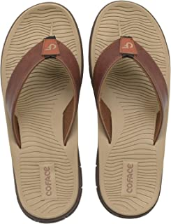 COFACE Men's-Sport-flip Flops-Casual-Comfort-Sandals-with Arch Support-Outdoor-Beach-Size 7~13