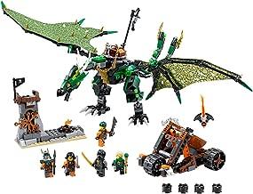Lego Ninjago 70593 The Green NRG Dragon Building Kit, (567-Pieces)