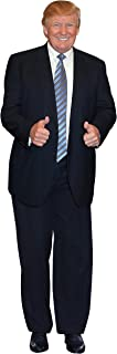 aahs!! Engraving Donald Trump Stand Up | Cardboard Cutout | 6 feet Life Size Standee Picture Poster Photo Print of President | Blue Tie