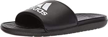 adidas Voloomix Men's Slide Sandal (Black/White)