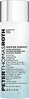 Peter Thomas Roth Water Drench Hyaluronic Micro-Bubbling Cloud Mask, 120 ml