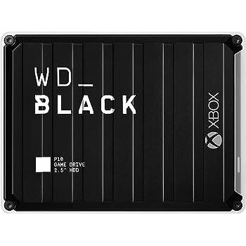 WD_BLACK P10 Game Drive de 5 TB para llevar tu colección de juegos de PC o consola allí donde vayas