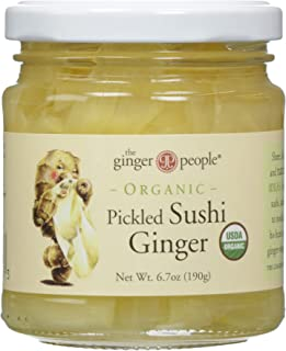 Ginger People, Pickled Sushi Ginger, 6.7 oz