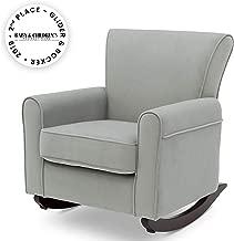 green nursery chair