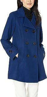 معطف بسوار مزدوج للنساء من ان كلاين