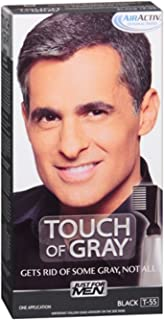 Just For Men Blk/Gry Size 1.4z Just For Men Touch Of Gray Black - Gray Hair Color (pack of 4)
