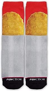 Function - Hash Brown Fast Food Potato Breakfast Fashion Socks