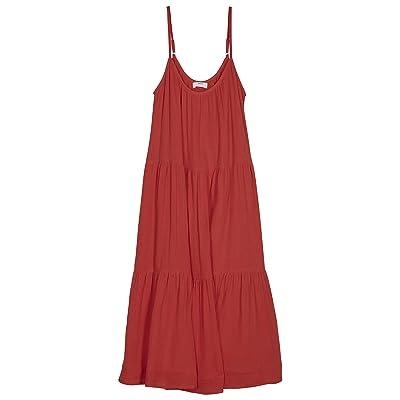 MIKOH SWIMWEAR Tokelau Cover-Up Dress (Fiery Red) Women