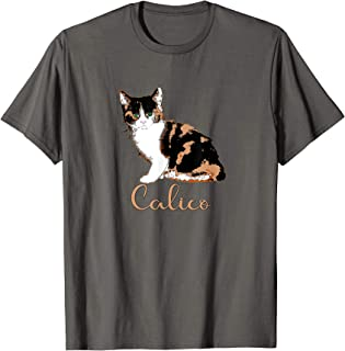 Cute Calico Cat T-shirt