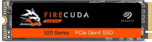 Seagate Firecuda 520 2TB Performance Internal Solid State Drive SSD PCIe Gen4 X4 NVMe 1.3 for Gaming PC Gaming Laptop...
