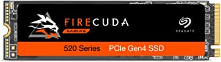 Seagate Firecuda 520 2TB Performance Internal Solid State Drive SSD PCIe Gen4 X4 NVMe 1.3 for Gaming PC Gaming Laptop Desk...
