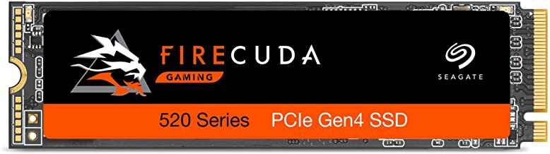 Seagate Firecuda 520 1TB Performance Internal Solid State Drive SSD PCIe Gen4 X4 NVMe 1.3 for Gaming PC Gaming Laptop Desk...