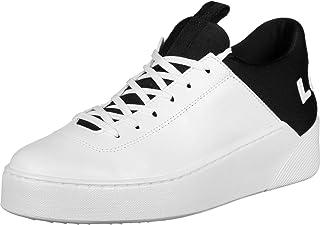 Levi's Levis Basket Femme, Mullet S - Chaussures de Sport, Cuir, Insert Textile, Logo imprimé