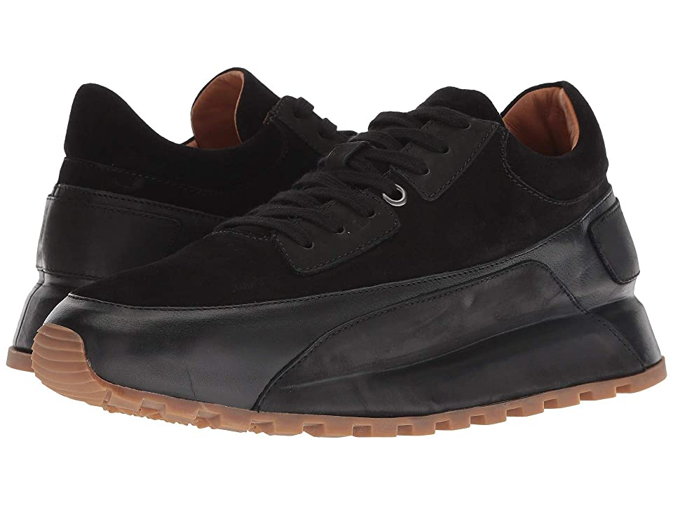 John Varvatos Collection Les Low Trainer (Black) Men