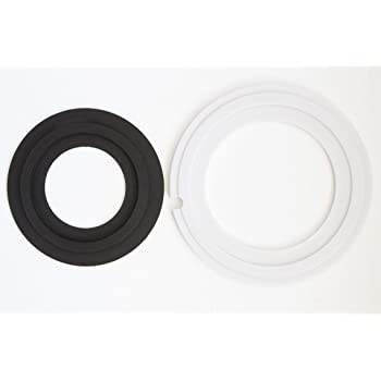 1008; EcoVac 146-149 or Gravity-Flush Toilets. 511;1006 Rubber Bowl Seal Kit 385311462 and 385316140 for Dometic//Sealand //Mansfield//VacuFlush and Traveler Toilet with The Model of 510