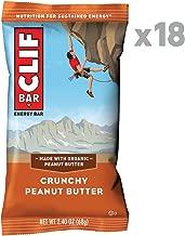 CLIF BAR - Energy Bars - Crunchy Peanut Butter - (2.4 Ounce Protein Bars, 18 Count)