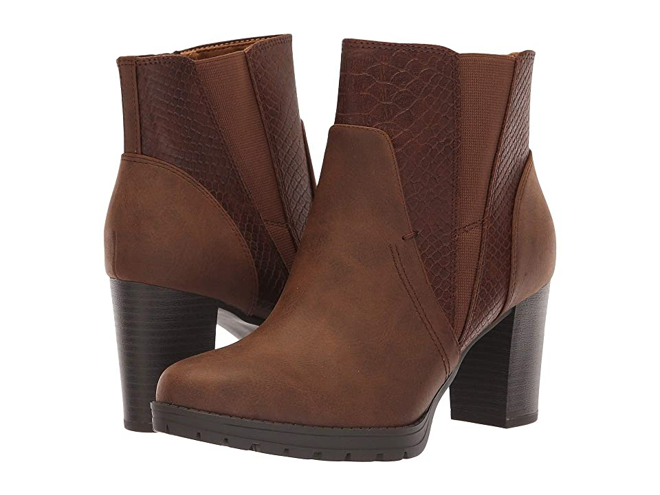 Natural Soul Nadia (Brown Smooth/Snake) Women