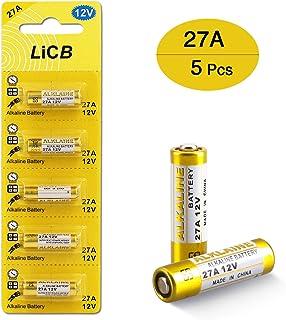 EX-ENEGY 27A 12V Alkaline Batteries A27 MN27 VR27 L828 5 Pack