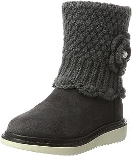 [ジェオックス] ニット ブーツ J THYMAR G. F ジュニア ガールズ 牛革 通気性 J744FF022CP