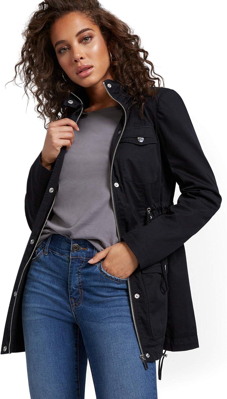 New York & Co. Women's Long Anorak Jacket