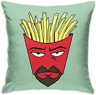 FFLIZ4fl Aqua Teen Hunger Force Fashion Pillow Set 18inch18inch for Pillow White One Size