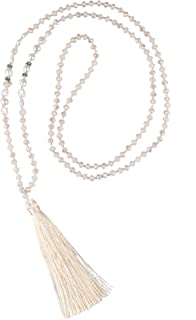 Best long pearl necklace with tassel Reviews