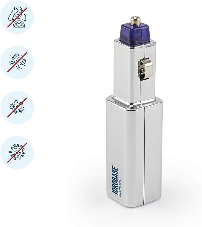 13 opinioni per IDROBASE BKM Plug-in, purificatore d'aria 2in1, ionizzatore auto con presa