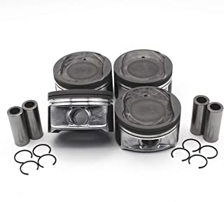 .040 1.00MM AZUSA PISTON SET for 1996-2002 GM 5.7L Chevy 350 CADILLAC GMC V8 OHV 16V VORTEC R