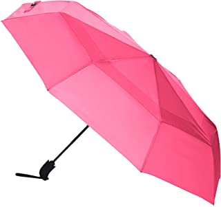 AmazonBasics Umbrella with Wind Vent, Pink