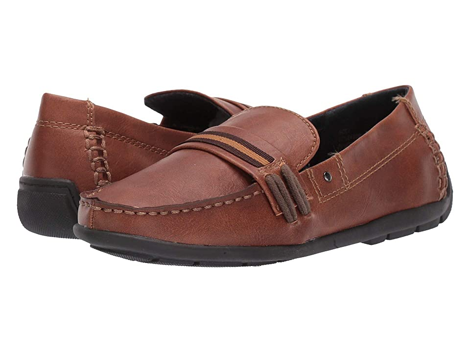 Steve Madden Kids Driver (Toddler/Little Kid/Big Kid) (Cognac) Boys Shoes